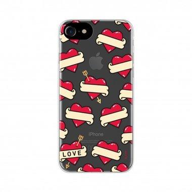 FLAVR iPlate Hearts beschermcase voor de iPhone 6 / 6s / 7 / 8