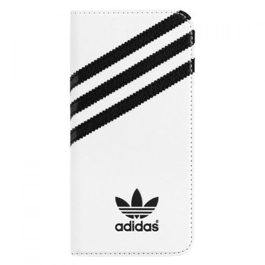 Adidas Originals Booklet Case wit/zwart voor iPhone 6