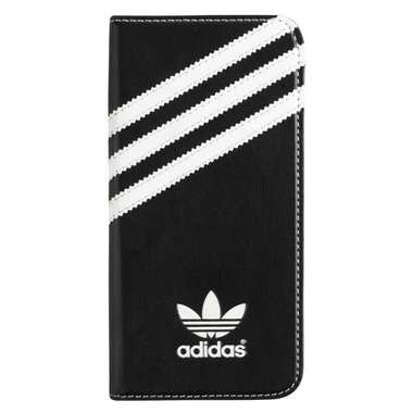 Adidas Originals Booklet Case zwart/wit voor iPhone 6