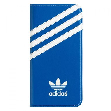Adidas Originals Booklet Case blauw/wit voor iPhone 6