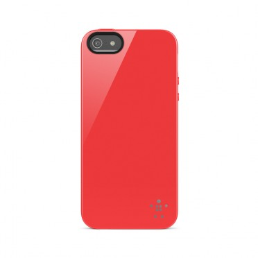 Belkin Grip Case TPU Ruby voor iPhone 5 / 5S / 5SE