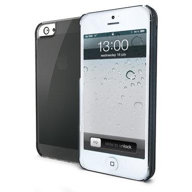 Celly LB TPU Gel Case Zwart voor iPhone 5 / 5S / 5SE