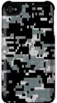 Griffin PixelCrash Camo Black voor iPhone 5 / 5S / 5SE