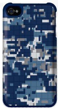 Griffin PixelCrash Camo Blue / Gray voor iPhone 5 / 5S / 5SE