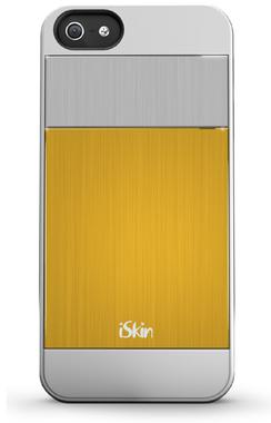 iSkin Aura Aluminium Goud voor iPhone 5 / 5S / 5SE