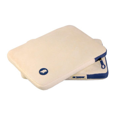 Jim Thomson Cosy Plush iPad Sleeve Creme voor iPad