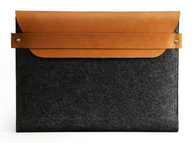Mujjo Envelope Sleeve voor iPad - Tan