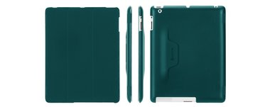 Griffin Intellicase Peacock voor iPad 2, 3, 4 groen