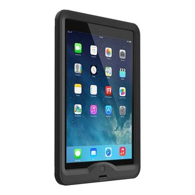 LifeProof Nuud Case Zwart voor Apple iPad Air