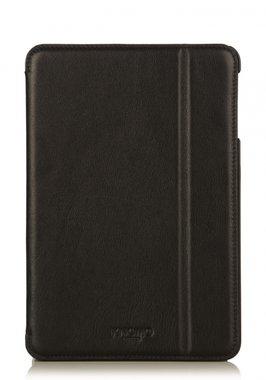 Knomo Folio Case Leather Black voor iPad mini 1 t/m 3