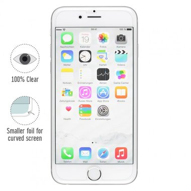 Artwizz ScratchStopper Screenprotector 2-pack voor iPhone 6 plus