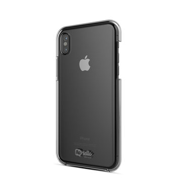 BeHello Anti-scratch Back Case Transparant voor iPhone X / Xs
