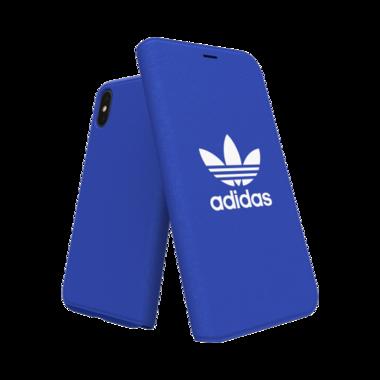 Adidas Booklet Case voor de iPhone X / Xs (blauw)