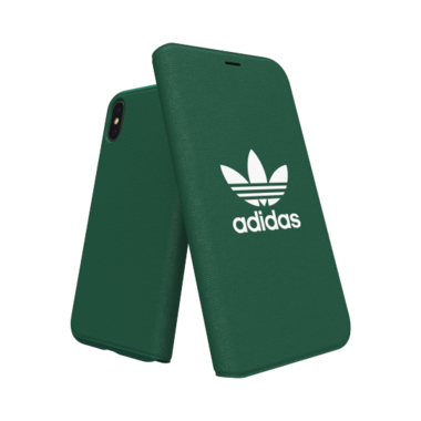 Adidas Booklet Case voor de iPhone X / Xs (groen)