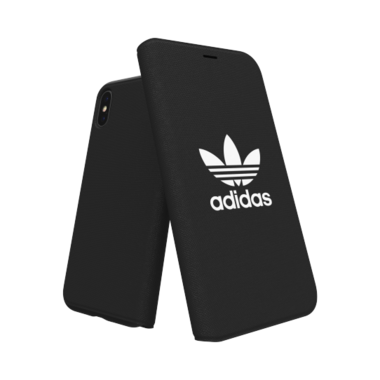 Adidas Booklet Case voor de iPhone X / Xs (zwart)