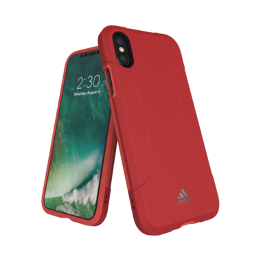 Adidas SP Solo Case Roze voor iPhone X/Xs