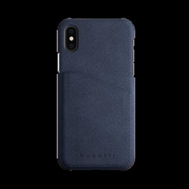 Bugatti Londra Suéde Navy Blue voor iPhone X/Xs