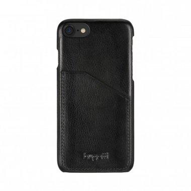 Bugatti Londra Leer Zwart voor iPhone 7/8