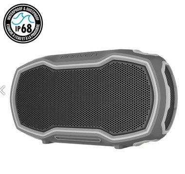 BRAVEN Ready Prime Outdoor Series Bluetooth Speaker | 4400mAh | IP68 | grey/orange