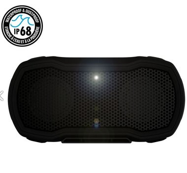 BRAVEN Ready Pro Outdoor Series Bluetooth Speaker | 2600mAh | IP68 | black/titanium
