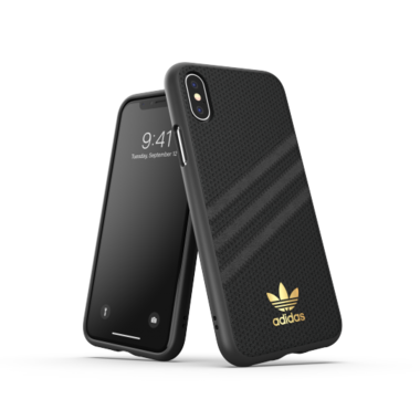 adidas OR Moulded case PU WOMEN for iPhone X/Xs black
