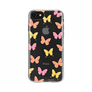 FLAVR iPlate Butterflies voor iPhone 6/6S/7/8 colourful