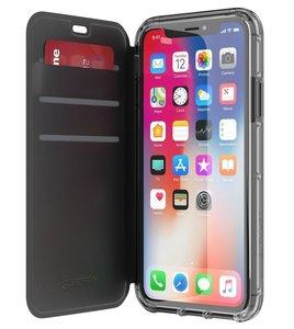 Griffin Zwart Survivor Clear Wallet iPhone X