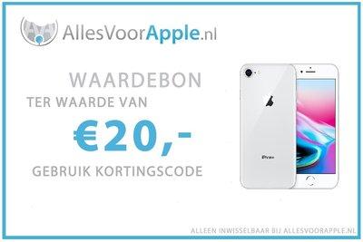 AllesVoorApple.nl €20,- Cadeaubon