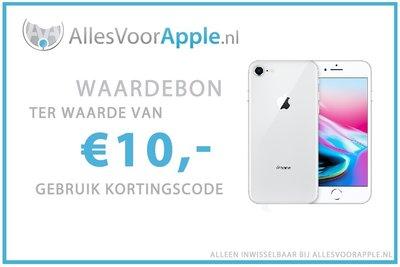 AllesVoorApple.nl €10,- Cadeaubon