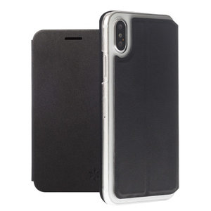 Honju DarkBook Folio voor Apple iPhone X/Xs (zwart)
