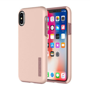 Incipio DualPro Case voor Apple iPhone X/Xs (rose goud)