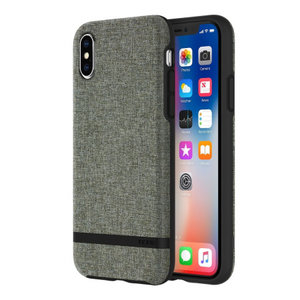Incipio Carnaby Case (Esquire Series) Apple iPhone X/Xs (forest grijs)