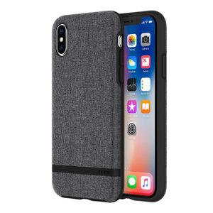 Incipio Carnaby Case (Esquire Series) Apple iPhone X/Xs (grijs)
