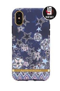 Richmond & Finch Super Star - Gold Details iPhone X/Xs (blauw)