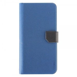 Fenice Diario Universal voor Apple iPhone 6, 7 en 8 Plus (Marine blauw)