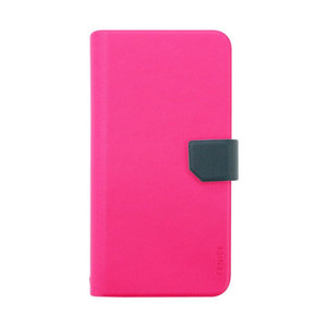 Fenice Diario Universal voor Apple iPhone 6, 7 en 8 Plus (Roze)