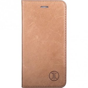 JT Berlin Lederbook Magic voor Apple iPhone 7 Plus en 8 Plus (Cognac)