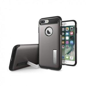 Spigen Slim Armor (grijs) voor iPhone 7 plus en 8 plus