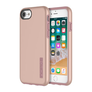 Incipio DualPro Case voor Apple iPhone 8/7/6/6S (iridescent rose gold)