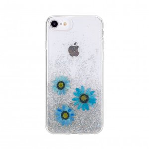 FLAVR iPlate Real Flower Julia (blauw)