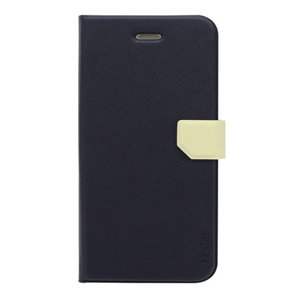 Fenice Diario Ver.2 Case voor Apple iPhone 8/6/6S (navy/ivory)