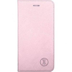 JT Berlin Lederbook Magic voor  Apple iPhone 6 / 6s (roze)