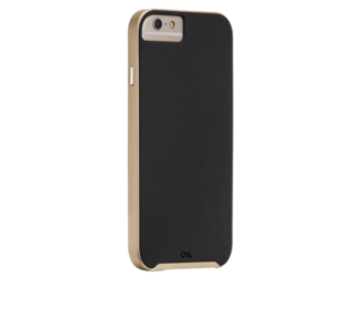 Case-Mate Slim Tough Case Black Gold voor iPhone 6