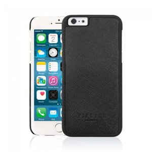 Pipetto Classic Snap Case Saffiano Leather Black voor iPhone 6 Plus / 6s Plus
