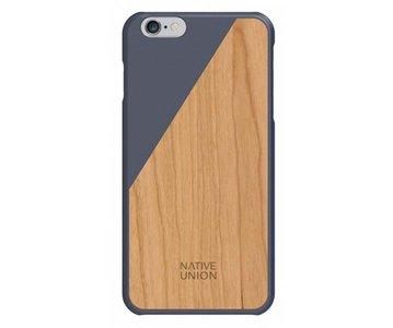 Native Union CLIC Wooden Case Marine / Cherry