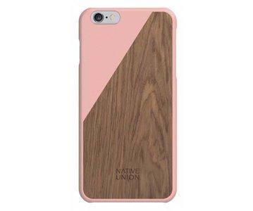 Native Union CLIC Wooden Case Blossom / Walnut voor iPhone 6 Plus / 6s Plus