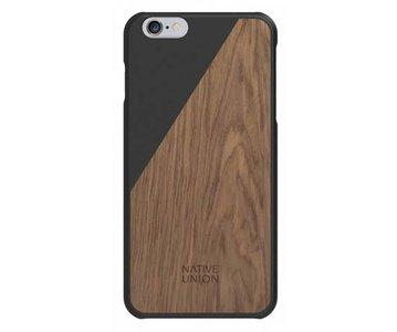 Native Union CLIC Wooden Case Black / Walnut voor iPhone 6 Plus / 6s Plus