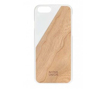 Native Union CLIC Wooden Case White / Cherry voor iPhone 6 / 6s