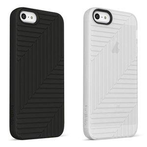 Belkin Flex Case 2-Pack Blacktop/Clear voor iPhone 5 / 5S / 5SE