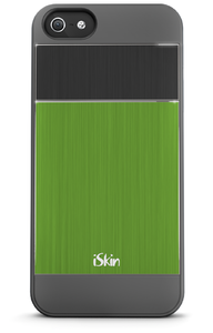 iSkin Aura Aluminium Groen voor iPhone 5 / 5S / 5SE